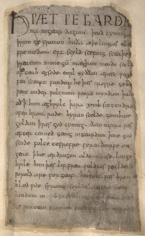 an analysis of christian elements in beowulf