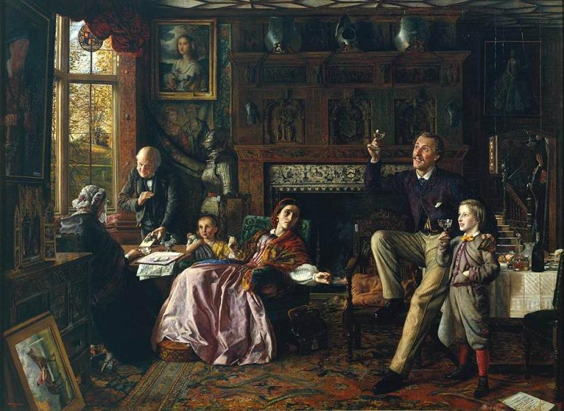 The Last Day in the Old Home (1862), Robert Braithwaite Martineau