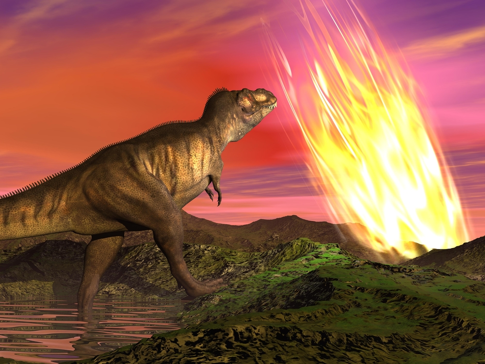 asteroid theory dinosaur extinction essay Dino-killing asteroid hit just the right spot to trigger extinction (read about the theories for dinosaur extinction proposed before the chicxulub impact).