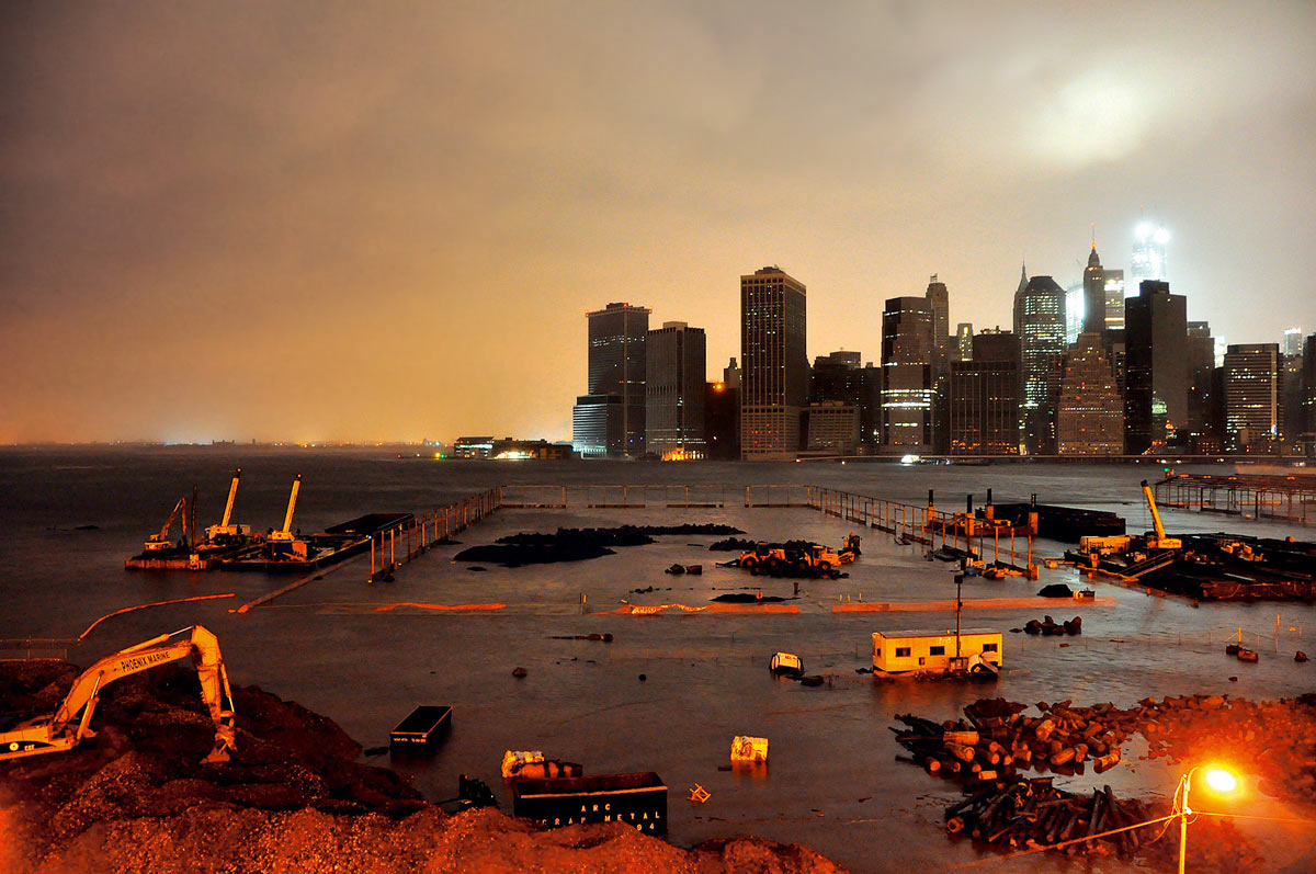 Cyclone sandy new york pictures